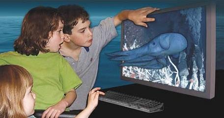 khám phá đại dương qua màn hình phân giải cao